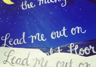 3 more ways to paint quotes on canvas