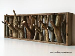 twig coat rack