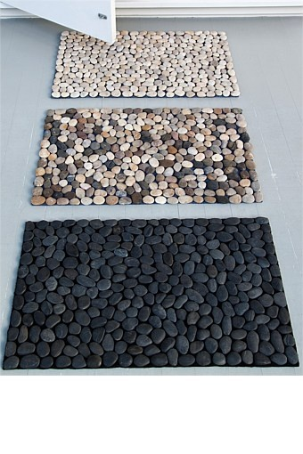 stone bath mat diy