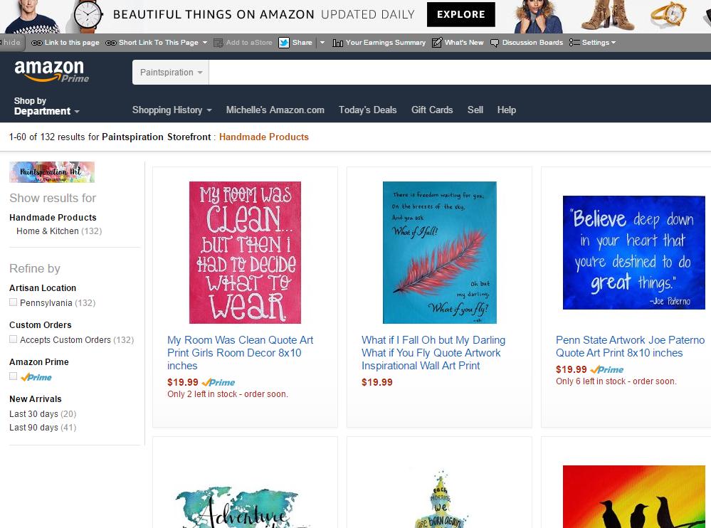 Shop on Amazon