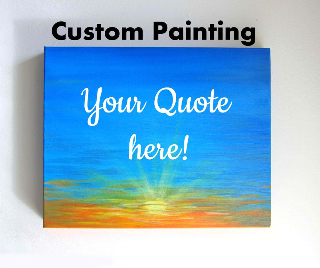 Custom Canvas Art