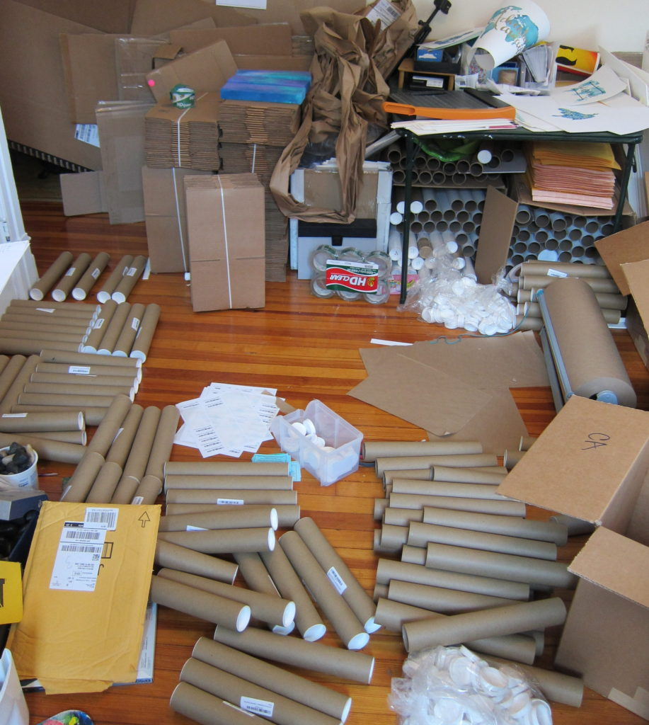 Sending prints into Amazon Prime has completely destroyed my studio. In a good way... right...?